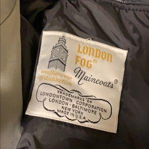 London fog maincoat